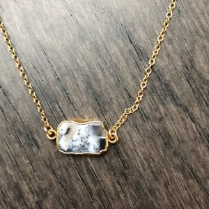 Jewelry - Dendrite Opal 14k gold filled Necklace